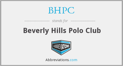 What does BHPC stand for?