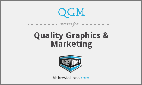 What does QGM stand for?