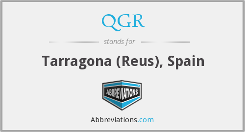 What does QGR stand for?