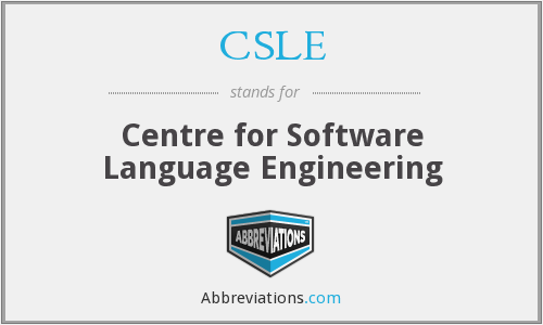 CSLE - Centre for Software Language Engineering