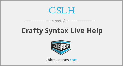 What does CSLH stand for?