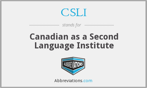 What does CSLI stand for?