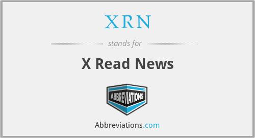 XRN - X Read News