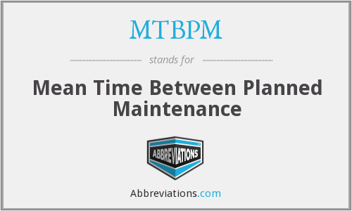 What does MTBPM stand for?