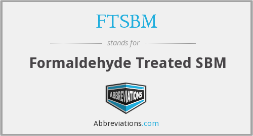 What does FTSBM stand for?