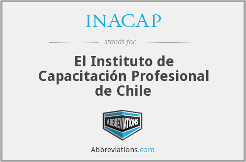 What does INACAP stand for?