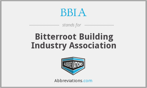 BBIA - Bitterroot Building Industry Association