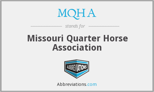 What does MQHA stand for?