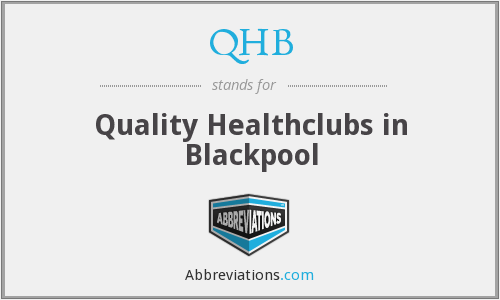 QHB - Quality Healthclubs in Blackpool