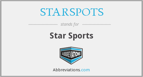 What does STARSPOTS stand for?