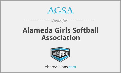 AGSA - Alameda Girls Softball Association