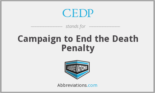 CEDP - Campaign to End the Death Penalty