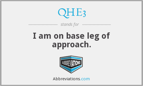 What does QHE3 stand for?