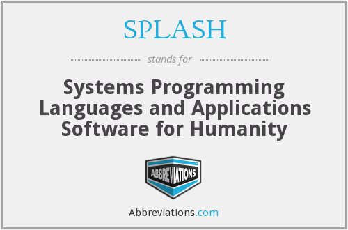 What does SPLASH stand for?