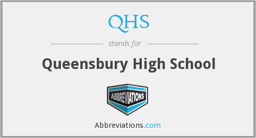 QHS - Queensbury High School