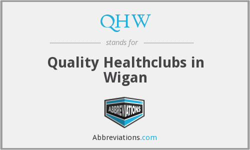 QHW - Quality Healthclubs in Wigan