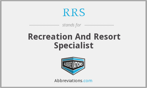 RRS - Recreation And Resort Specialist
