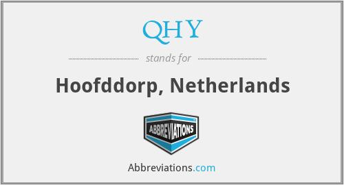 QHY - Hoofddorp, Netherlands