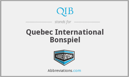 QIB - Quebec International Bonspiel