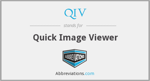 What does QIV stand for?