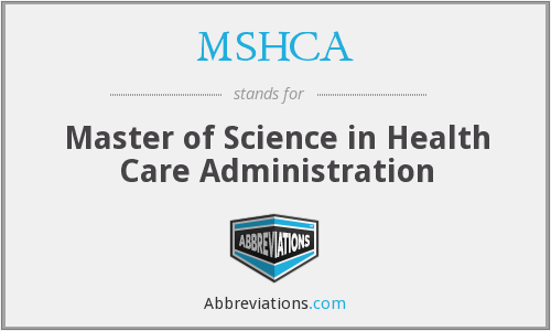 What does MSHCA stand for?