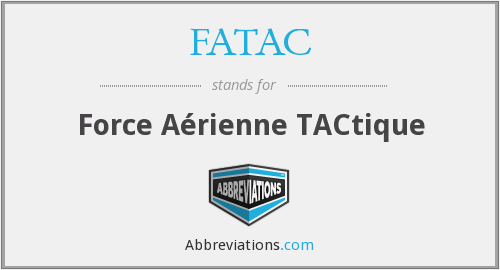 What does FATAC stand for?