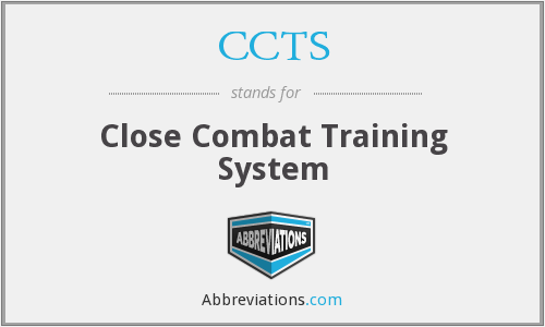 What does CCTS stand for?