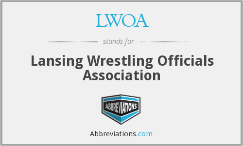 What does LWOA stand for?