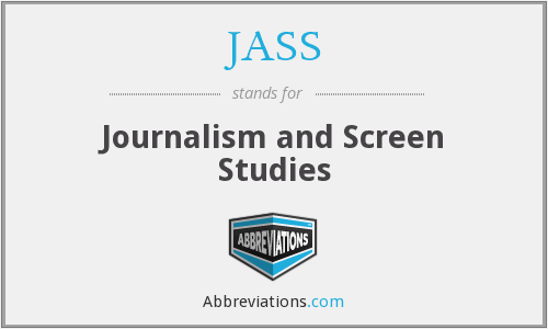 JASS - Journalism and Screen Studies