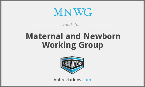 What does MNWG stand for?