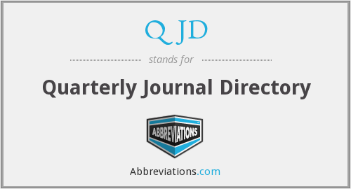 What does QJD stand for?