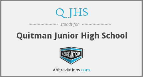 What does QJHS stand for?