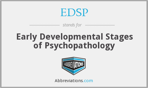 What does EDSP stand for?
