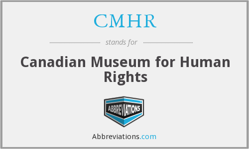 What does CMHR stand for?