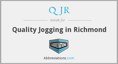 What does QJR stand for?