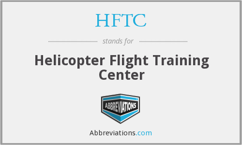 HFTC - Helicopter Flight Training Center