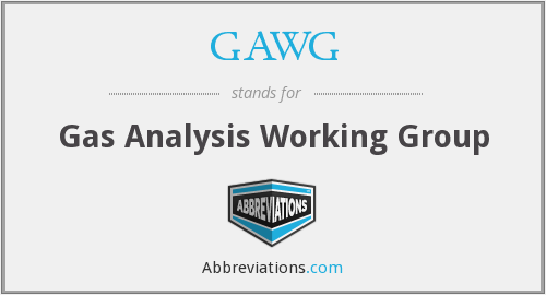 What does GAWG stand for?