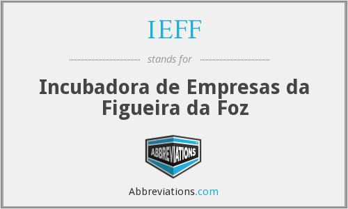 What does IEFF stand for?