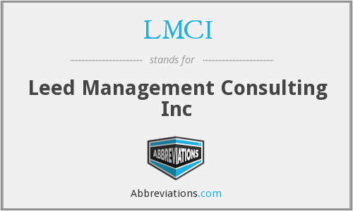 LMCI - Leed Management Consulting Inc