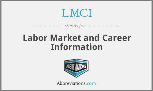 LMCI - Labor Market and Career Information
