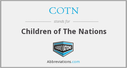What does COTN stand for?