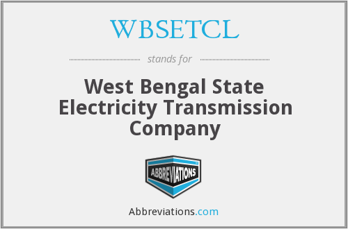 What does WBSETCL stand for?