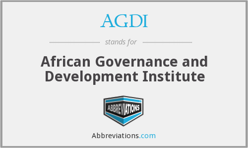 What does AGDI stand for?