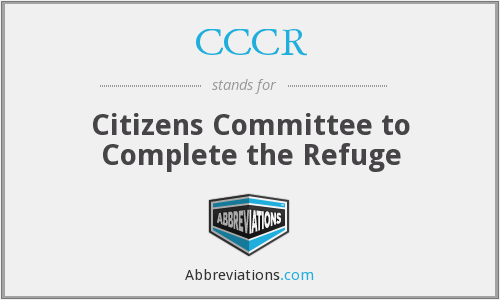 CCCR - Citizens Committee to Complete the Refuge