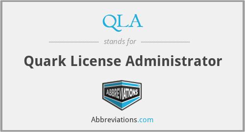 QLA - Quark License Administrator