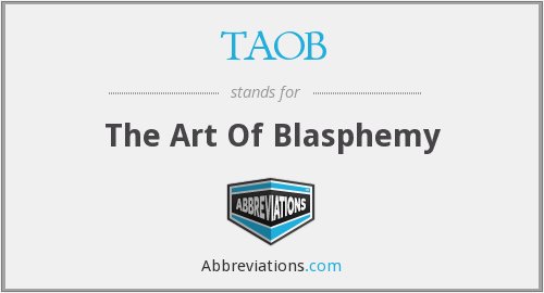What does TAOB stand for?