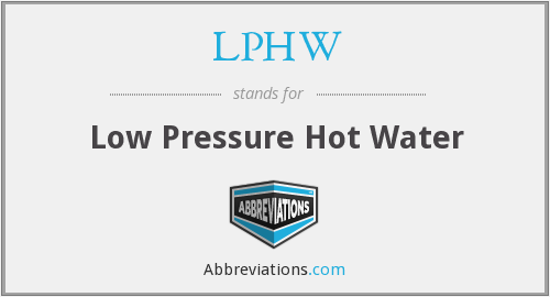 What does LPHW stand for?