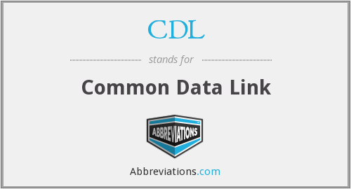CDL - Common Data Link