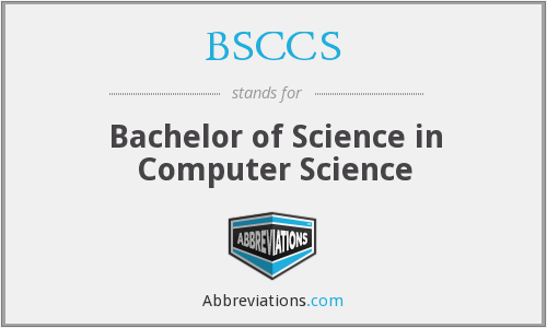 What does BSCCS stand for?