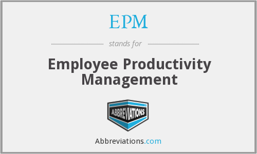EPM - Employee Productivity Management